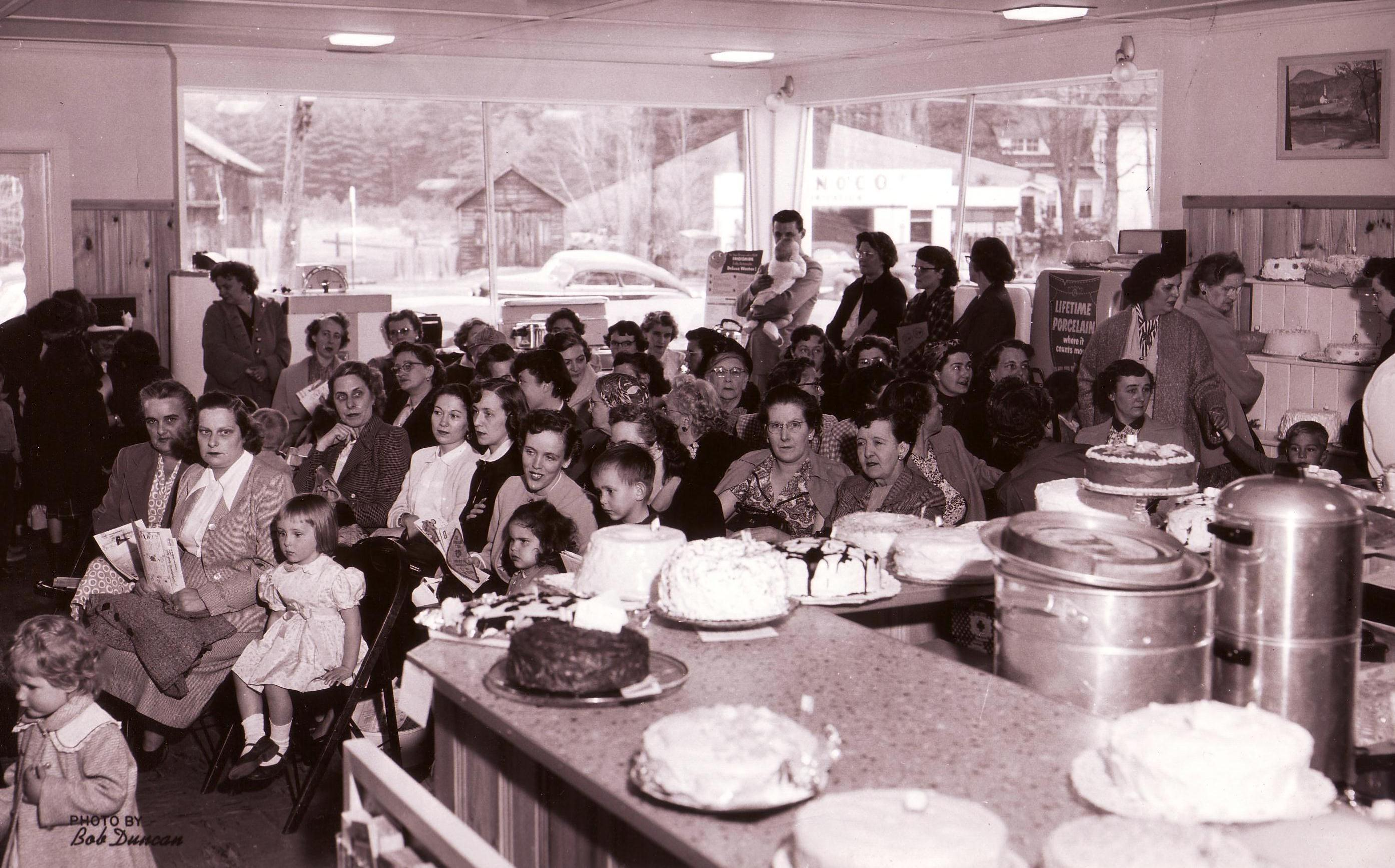 Open House, sometime in the 1950's